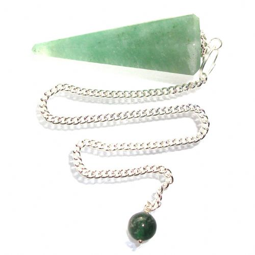 Green Aventurine Pendulum Scrying Point